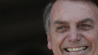 Brasiliens Präsident Jair Bolsonaro kann sich freuen: Mit der Verabschiedung der Rentenreform erfüllt der Politiker ein Wahlversprechen. (Archivbild)