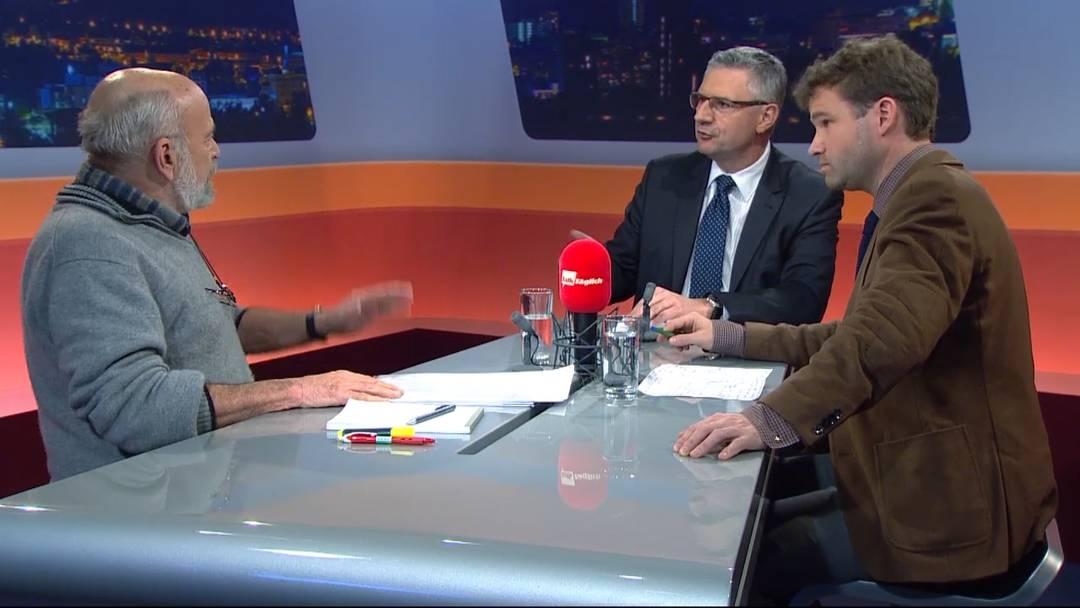 Asyl-Referendum in Oberwil-Lieli – sehen Sie hier den ganzen Talk vom Dienstagabend.