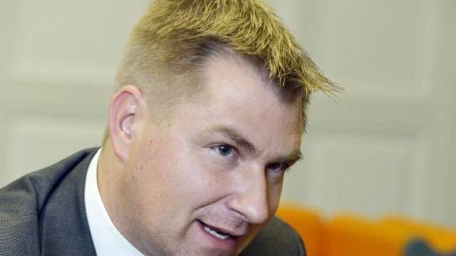 Mit 21 Jahren wird Brunner in den Nationalrat gewählt und seit 2008 ist er Parteipräsident. Foto: Peter Mosimann