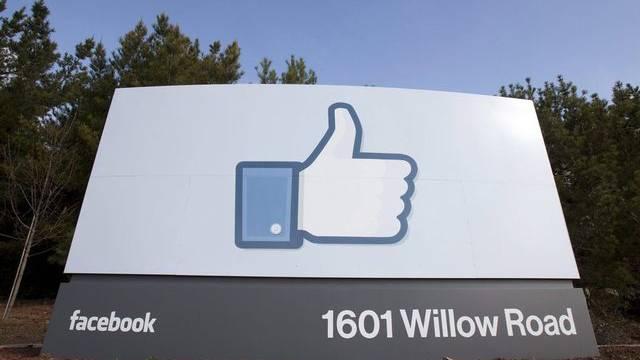 Am Facebook-Hauptsitz in Kalifornien (Archiv)