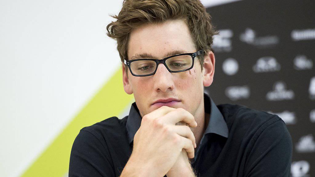 Im Mai sprach Stefan Küng in St. Gallen über die Folgen seiner Sturzverletzung am Giro d'Italia (im Bild), nun erlitt der Schweizer Radrennfahrer einen weiteren Rückschlag. Der Thurgauer erkrankte am Pfeifferschen Drüsenfieber