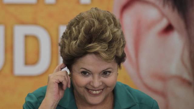 Brasiliens Präsidentin Dilma Rousseff hat ihren Besuch verschoben