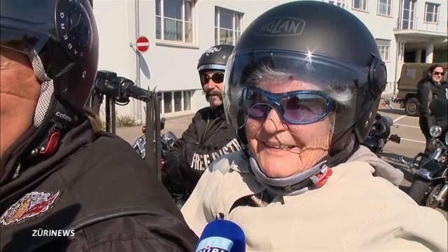 TeleZüri erfüllt 92-Jähriger Harley-Traum