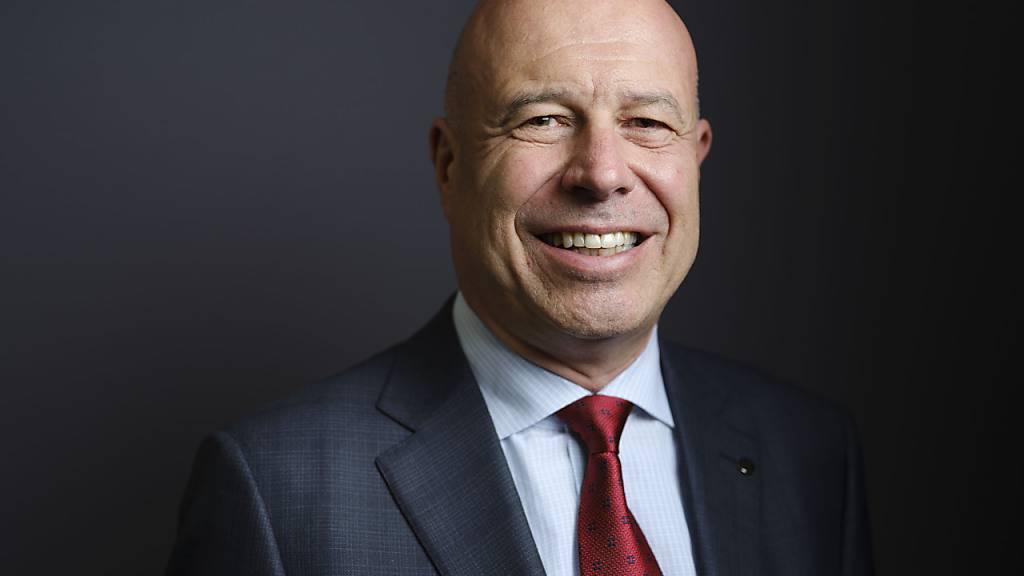 Fabio Regazzi, Präsident des Schweizerischen Gewerbeverbands (SGV) und Mitte-Nationalrat (TI).