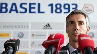 Paulo Sousa nimmt am Mittwoch die Arbeit beim FC Basel auf.
