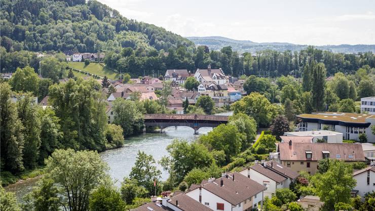 Blick auf die Gemeinde Turgi.