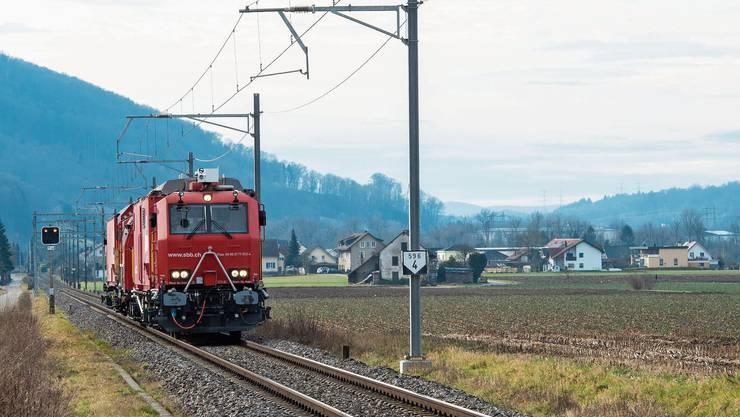 Auf der Strecke fahren nur Güterzüge. Das soll sich ändern. (Symbolbild)