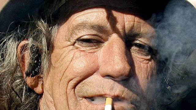 Keith Richards verzichtet offenbar auf Alkohol (Archiv)