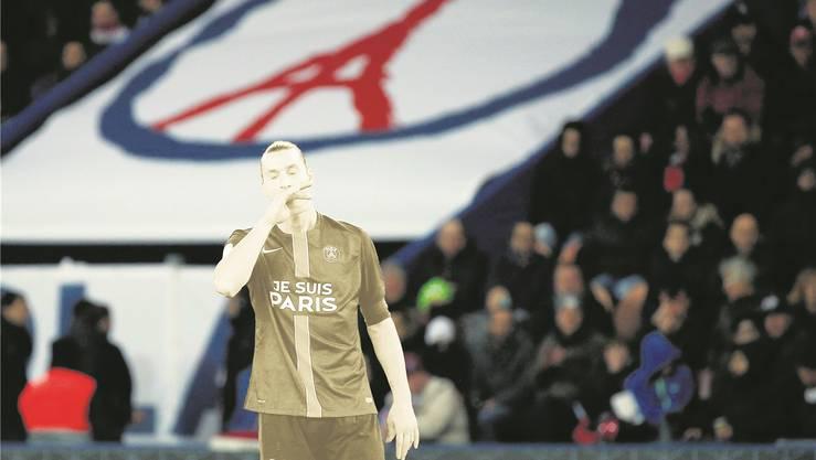 Der Alltag ohne Superstar Zlatan Ibrahimovic fällt Paris Saint-Germain schwerer, als dem französischen Topklub lieb ist.Keystone