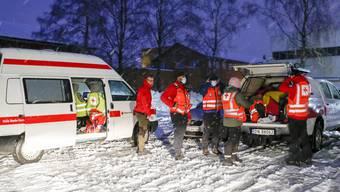 Das Unglück ereignete sich in Ask, 40 Kilometer nordöstlich von Oslo.