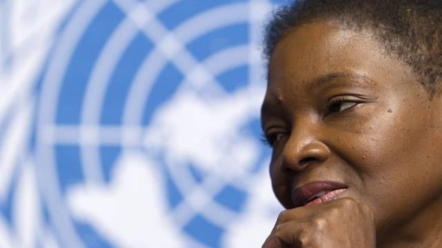 7,4 Mrd. Dollar will UNO-Nothilfekoordinatorin Valerie Amos für 2011 zusammenbringen