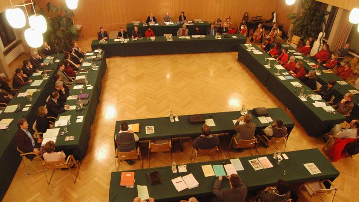 Nach intensiver Diskussion wurde das Budget zurückgewiesen. (Archivbild)