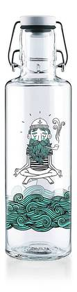 Soulbottle Glasflasche mit integriertem Spender, 100 Prozent recycelbar, ab 30 Fr. Bild: zvg