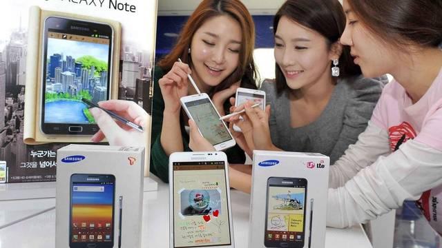 Samsung konnte im Weihnachtsquartal sehr viele Smartphones verkaufen (Archiv)