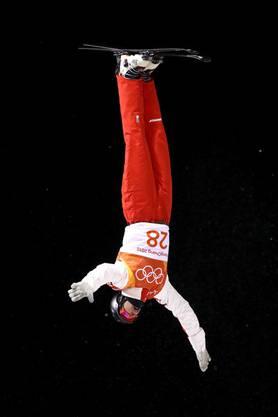Nicolas Gygax beendet seinen ersten olympischen Wettkampf auf dem 23. Rang. Bis zur WM nächstes Jahr will er einen neuen Trick lernen und an der Landung arbeiten.