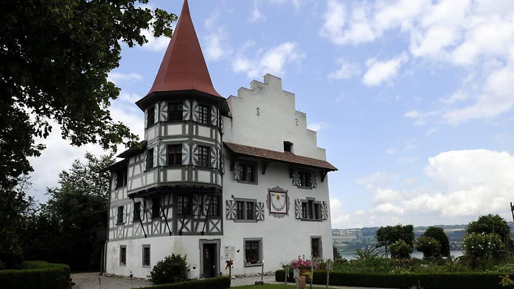 Das Schlösschen Wartensee in der Gemeinde Neuenkirch, nach dem sich die Familie Schnyder von Wartensee benannte. (Archivbild)
