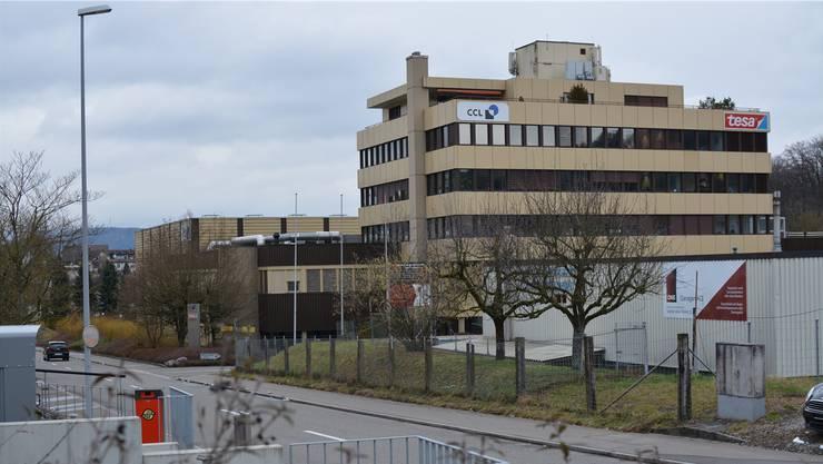 CCL und Tesa verlassen die Liegenschaft an der Industriestrasse 19, die die Firma Bandfix 1984 eröffnet hatte. DEG