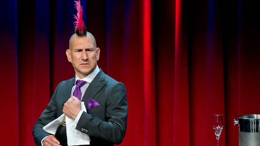 Humor als Nehmerqualität: Satiriker Andreas Thiel. (Archivbild)