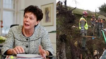 Esther Gassler unterstützt die Reorganisation der regionalen Zivilschutzorganisationen.