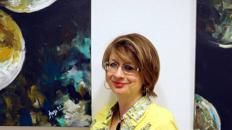 Darf als Erste im Sonnenblick ausstellen: Jeannette Hasler-Gobbi. ubu