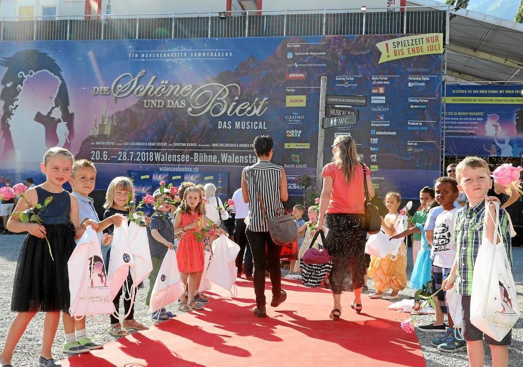 Walenseebühne - Premiere