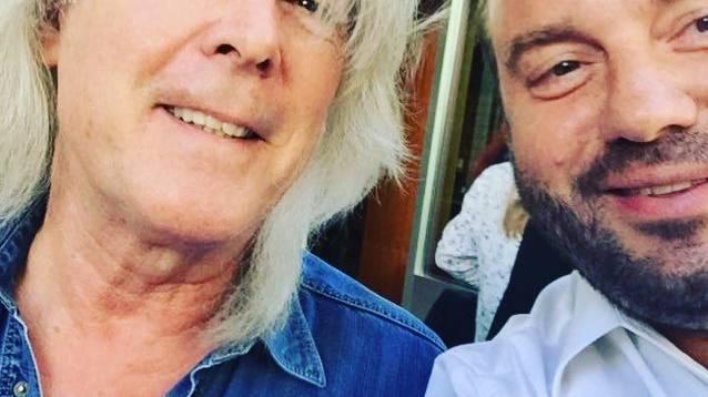 Cliff Williams von AC/DC und Florian Rexer.
