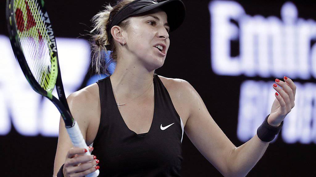 Nichts zu holen gegen Petra Kvitova: Belinda Bencic