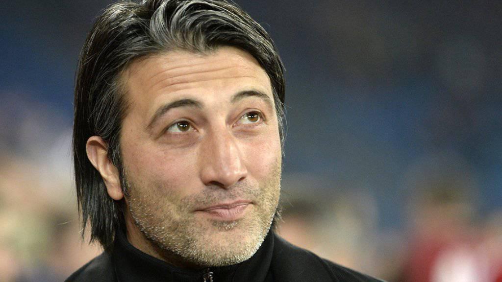 Murat Yakin weiss was er will: Beruflich gesehen ist dem einstigen FCB-Trainer Taktik wichtig, privat mag er Leute mit Stil (Archiv).