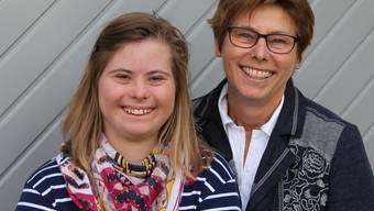 Agnes Küttel (rechts) hat von Tochter Nadine viel gelernt.