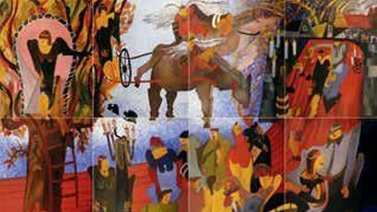 Ruth Kissling: Le rêve (Ausschnitt), entstanden 1998.