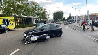 Am Dienstagnachmittag ereignete sich eine Kollision in Reinach.