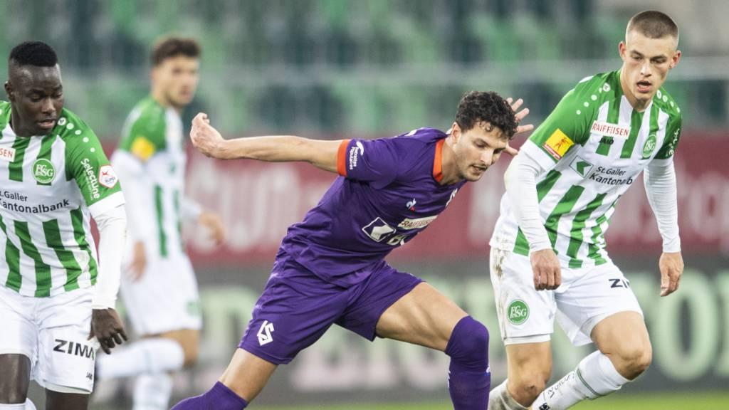 2:2 gegen Lausanne: St. Gallens Schwung in die Saison ist verpufft