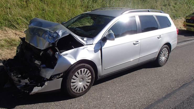 Der Auffahrunfall führte zu Verkehrsbehinderungen und mehreren Kilometern Rückstau.