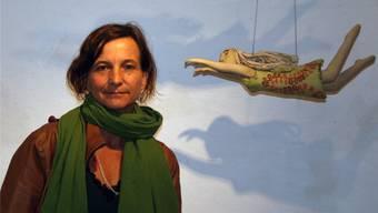 Doris Hirzel zeigt im Keramikmuseum in Matzendorf ihre Werke.