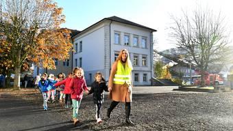 Feuerwehrübung Primarschule Balsthal