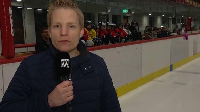 «Für die Hälfte des Hockeyclubs heisst es Saisonende»: Gedrückte Stimmung beim letzten Training der Argovia Stars am 16.2.2017