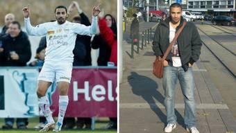 Student der Zahnmedizin: Sid-Ahmed Bouziane beim Cup-Match gegen YB und privat in Genf.