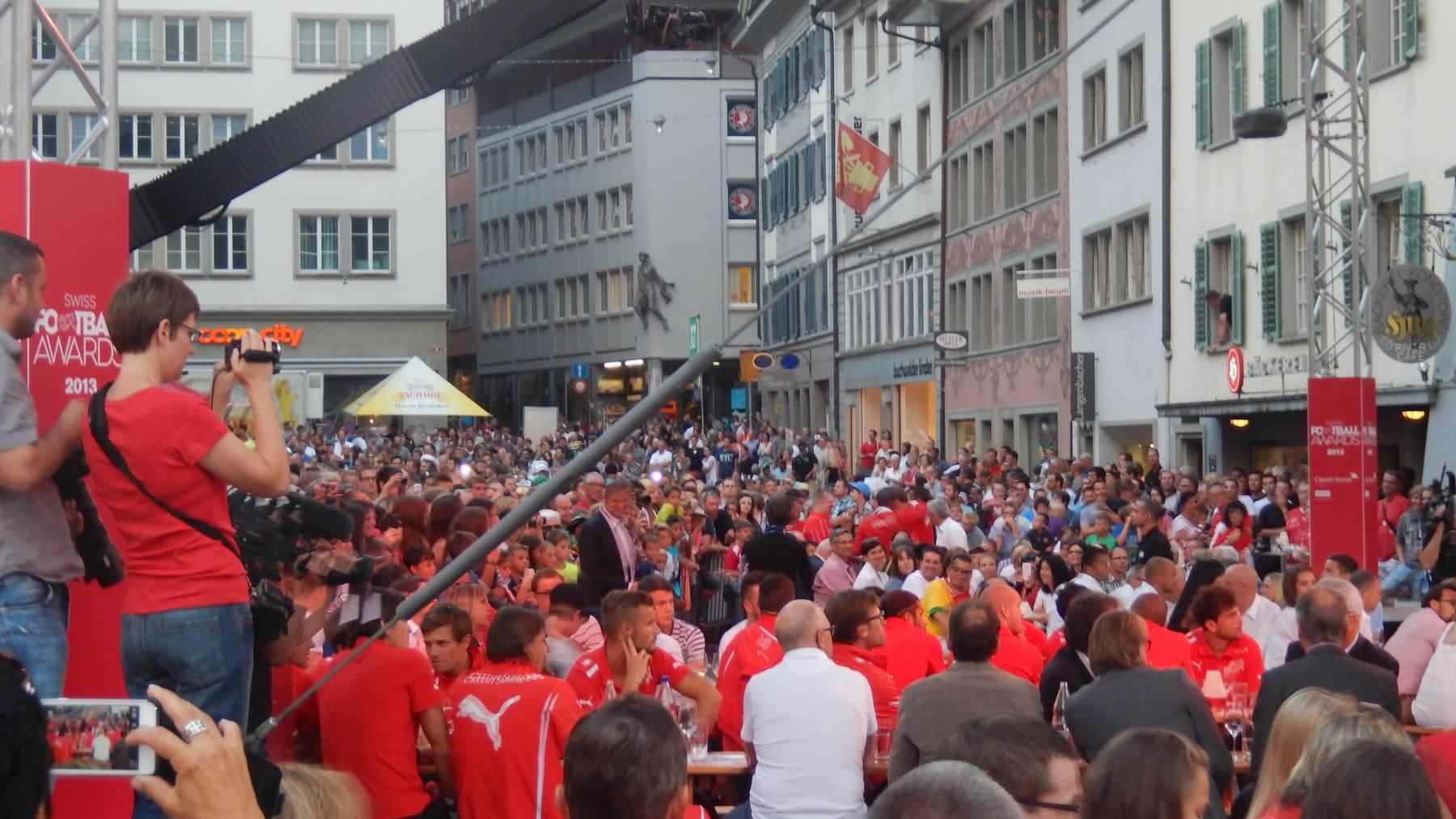 Nacht des Schweizer Fussballs 2014 in Sarnen
