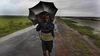 Super-Zyklon «Phailin» zerstört in Indien ganze Dörfer