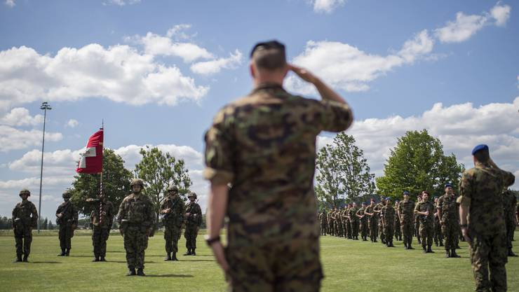 Die Ausgaben des Sozialdienstes der Armee (SDA) sind 2019 um 450'000 Franken gestiegen. (Symbolbild)