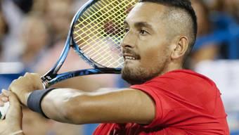 Nadal-Bezwinger Nick Kyrgios behält gegen David Ferrer den Durchblick