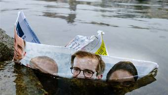 Begonnen hatte alles mit einem Sprung in den Rhein. Unter «#Uffbruch» wollten die bürgerlichen Vier den Umschwung in der Regierung herbeitwittern.