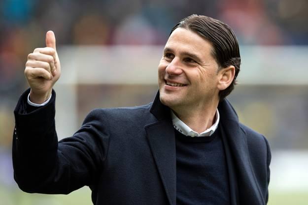Dass Christian Fassnacht wieder zur Verfügung steht, freut natürlich auch seinen Trainer, Gerardo Seoane.