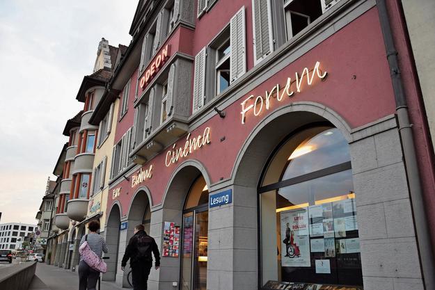 Das Brugger Kulturhaus Odeon befindet sich gleich gegenüber dem Bahnhof.