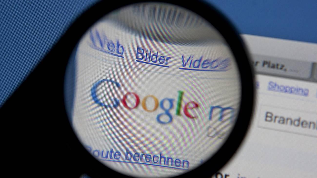 Google Suche Suchmaschine