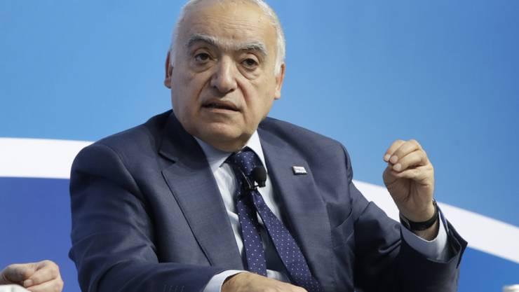 Uno-Gesandter Ghassan Salamé: Für den Konflikt in Libyen gibt es keine militärische Lösung. (Archivbild)