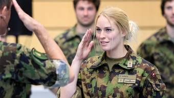 Aktuell sind nur 0,6 Prozent aller Armeeangehörigen Frauen.