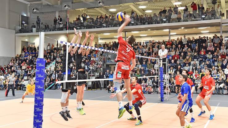 Die Spieler von Volley Schönenwerd können auch weiterhin überzeugen.