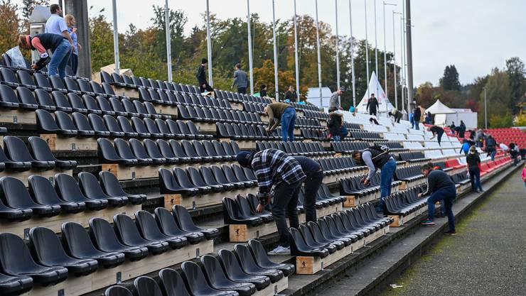 Sitzplatz-Posse: Der FC Aarau tappt weiter im Dunkeln – drohen sogar Geisterspiele?
