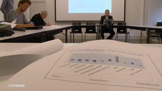 Finanzielle Situation in Zürich angespannt